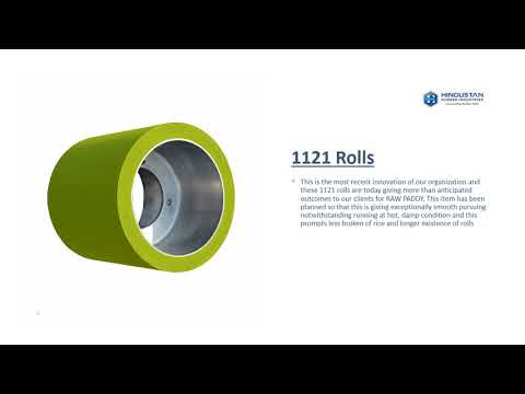 Hindustan Rice Mill Rubber Roller Manufacturer & Suppliers