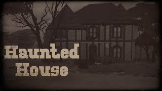 Abandoned Haunted House Speed Build- Sims 4