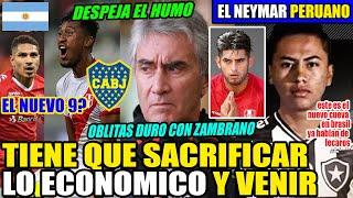 ¡EL NEYMAR PERUANO! ¿EL NUEVO CUEVA?│LA VERDAD DE TAPIA A BOCA│ OBLITAS PREOCUPADO POR ZAMBRANO!!!