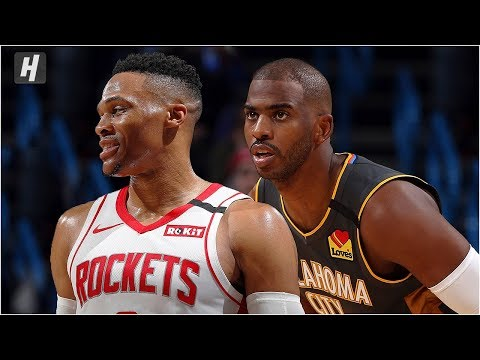 Houston Rockets vs Oklahoma City Thunder - Full Game Highlights | January 9, 2020 NBA Season