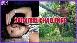 48 HOUR SURVIVAL CHALLENGE PART 1