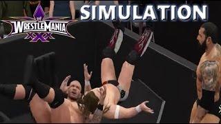 WWE 2K16 SIMULATION: Randy Orton vs Batista vs Daniel Bryan | Wrestlemania 30 Highlights