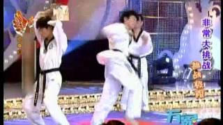 《步步惊心》吴奇隆极限大挑战:跆拳道踢爆木板