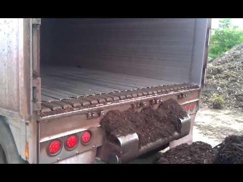 How A Semi Unloads 100 Yards of Mulch