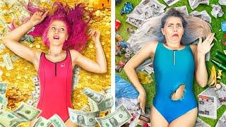 Rich Sister vs Poor Sister!