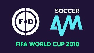 Live World Cup Draw with Football Daily & Soccer AM!