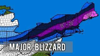 Major Winter Storm Harper Forecast