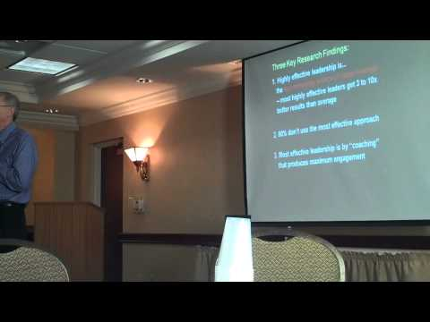 2011 GCC AGM - David Crisp - The Evolution to More Effective Leadership