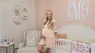 BABY GIRL NURSERY TOUR + NAME REVEAL   ERICA LEE
