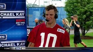 Eli Manning's thoughts on the Giants team entering 2017-2018