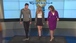 WXYZ's Alicia Smith learns how to Riverdance