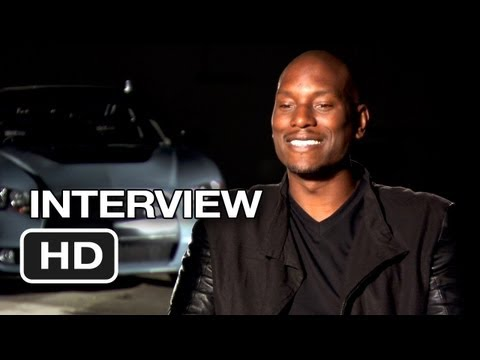 Fast & Furious 6 Interview - Tyrese Gibson (2013) - Dwayne ...