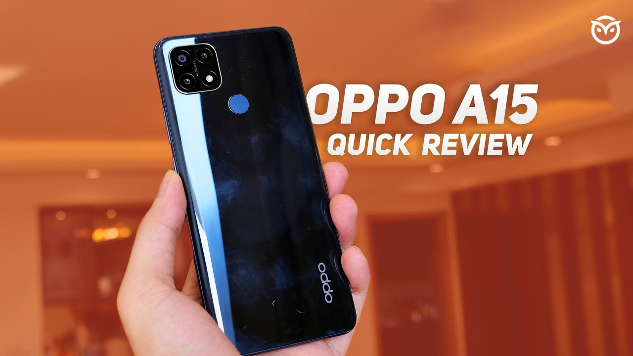 video OPPO A15 2GB RAM / 32GB ROM Android 10