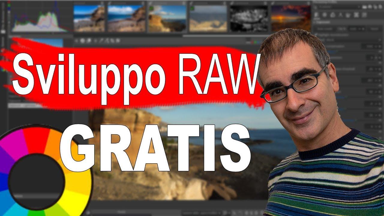 Come Sviluppare RAW gratis, RawTherapee: il Migliore Programma Gratuito per  i RAW (Tutorial ITA)