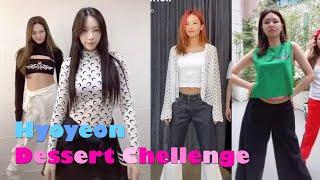 요즘 난리난 효연 디저트 챌린지모음  (태연,써니,수영,슬기,유리 등) Hyoyeon dessert challenge compilation