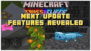 HUGE 1.17 Features CONFIRMED Coming Next Week | Minecraft 1.17 Caves & Cliffs Update