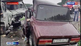 По факту смертельной аварии в Крутинском районе возбуждено уголовное дело