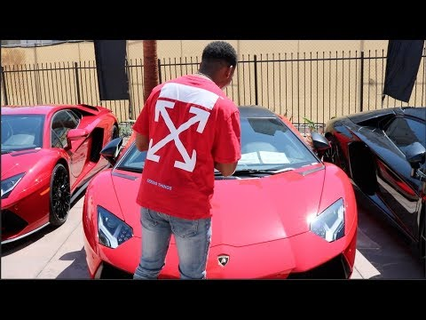 ZIAS & B.LOU Lamborghini Shopping !!!