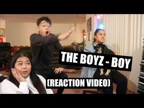 The Boyz - Boy || Reaction Video (STORYTIME: ONE OF US MET A MEMBER!)
