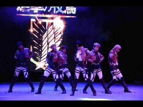 *New Close up Ver*This love(SHINHWA)Shingeki no Kyojin Cosplay Dance進擊の巨人By夜莺军团