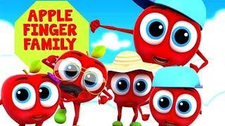familia dedo manzana   rimas infantiles   Apple Finger Family   Songs For Babies   Kids Rhymes