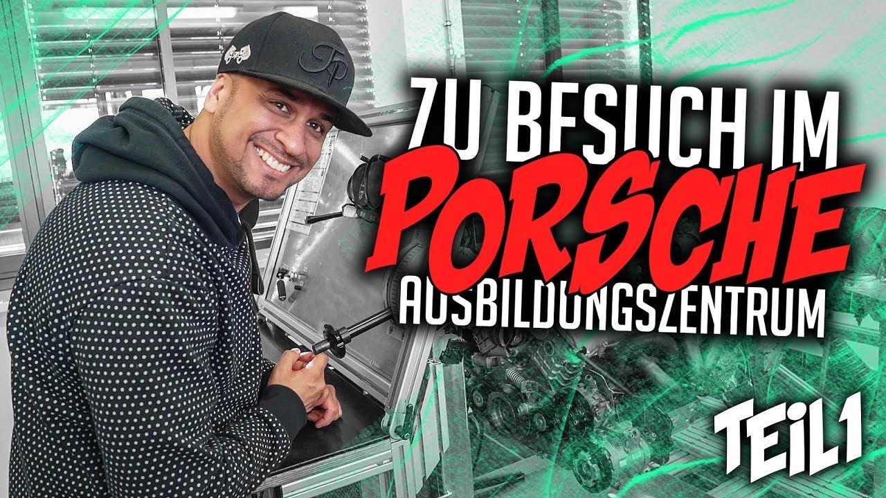 JP Performance bei YouTube - Zu Besuch im Porsche Ausbildungszentrum | Teil 1