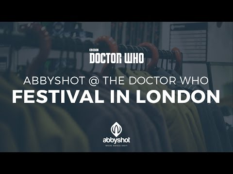 AbbyShot @ The Doctor Who Festival in London | Nov. 13-15