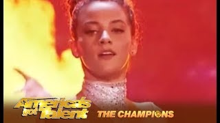 Sofie Dossi: She's 17-Years-Old With A Body Made Of Rubber! | America's Got Talent: Champions