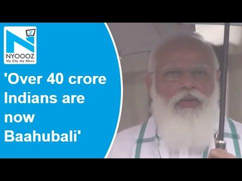'Over 40 crore Indians are now Baahubali': PM Modi on Covid-19 vaccine coverage