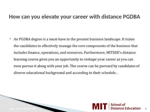 Distance Management Courses   Correspondence MBA   Distance MBA in Jodhpur