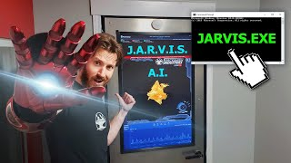 J.A.R.V.I.S. in Real Life! (Shop Automation)