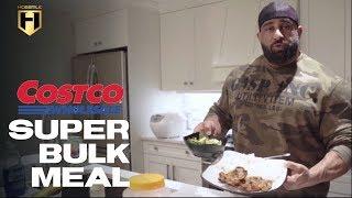MUSCLE BUILDING MEALS | Super Costco Bulk Meal