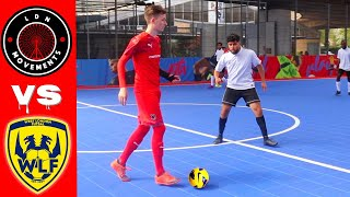 I played in a PRO FUTSAL MATCH! (Crazy Football & Soccer Skills, Goals, Nutmegs)