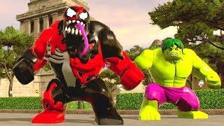 LEGO Marvel Super Heroes 2 - Chronopolis Open World Free Roam (Carnon, Spider-Man 2099 & Noir)