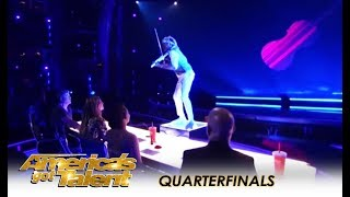 Brian King Joseph: Viral Violinist With Nerve Disease SLAYS! | America's Got Talent 2018