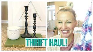 GOODWILL THRIFT HAUL! | JUNE 2019 | HOME DECOR & KIDS CLOTHES
