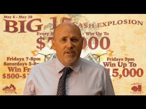 Big 15 Cash Explosion - May 6 - May 28, 2016