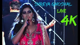 Shreya Ghosal Live Performance at Kolkata NETAJI INDOR STADIUM 2018