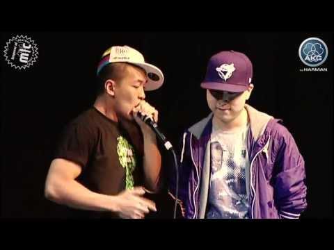 Beatboxing dharni vs. krNfx - Semi final - Emperor of Mic 2011