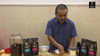 Kỹ thuật pha 1kg = 60 ly cà phê