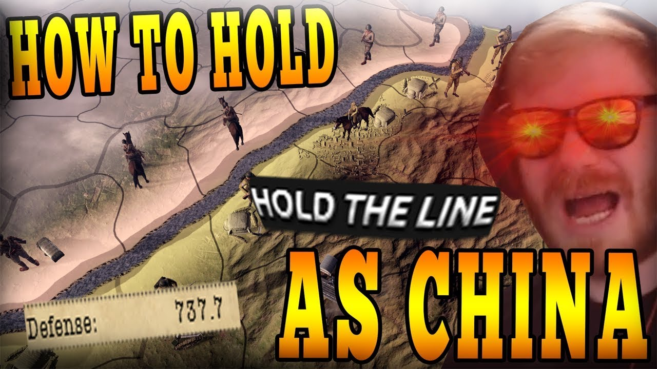 FORTRESS CHINA, HOW TO HOLD BACK JAPAN FOREVER! BEST CHINA GAME YOU WILL  SEE! - HOI4 Multiplayer