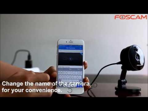 Cámara IP WIFI Foscam C1 Tutorial de Instalacion Ingles