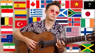 1 Guitar 26 Countries