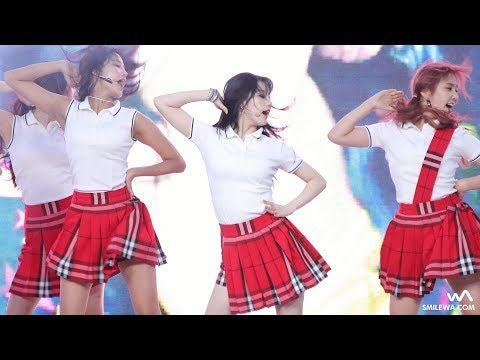 170831 프리스틴 (PRISTIN) 'WE LIKE' 시연 4K 직캠 @코엑스 거리응원전 4K Fancam by -wA-