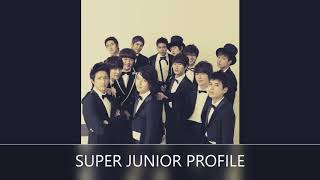 SUPPER JUNIOR PROFILE| BY MS.M