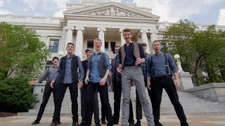 Newsies Medley   BYU Vocal Point (One-Shot A Cappella Tribute in 4K!)