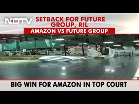 Amazon wins huge battle against Reliance in Supreme Court today