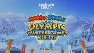 Let's Look at Mario & Sonic at the Sochi 2014 Winter Olympics!