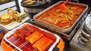 Korean Street Food - Street Food in Busan, Korea: Very Delicious !