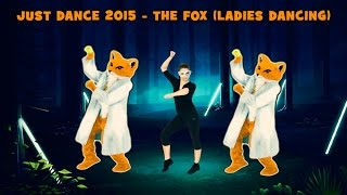 Just Dance 2015 - The fox (What does the fox say?) Ladies Xbox360